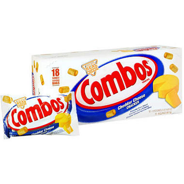 Combos Cheese Crackers - 18 ct.