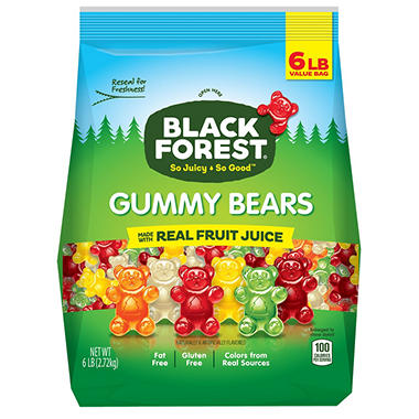 Black Forest® Gummy Bears - 6lb