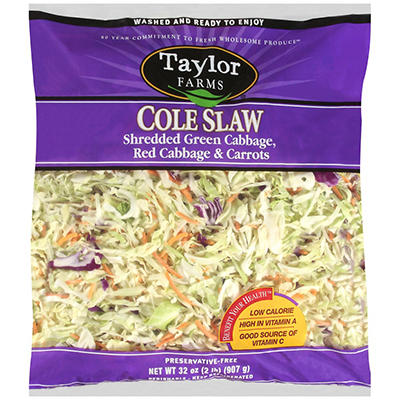 Taylor Farms Cole Slaw (2 lb.)