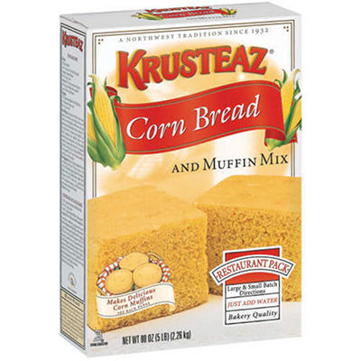 Krusteaz® Corn Bread and Muffin Mix - 80 oz.