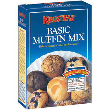 Krusteaz� Basic Muffin Mix - 80 oz.