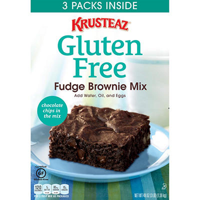 Krusteaz Gluten Free Fudge Brownie Mix (3 pk.)