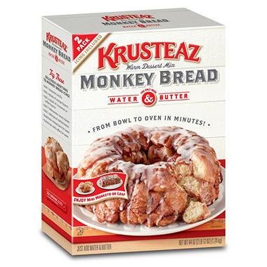 Krusteaz Monkey Bread (22 oz. each, 2 ct.)