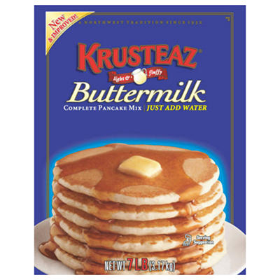Krusteaz Buttermilk Complete Pancake Mix - 7 lbs.