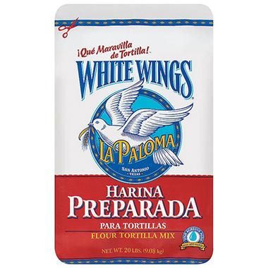 La Paloma White Wings® Flour Tortilla Mix - 20 lb.