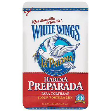 La Paloma White Wings Flour Tortilla Mix (20 lb.)