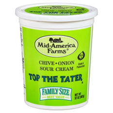 Mid-America Farms Top the Tater Chive and Onion Sour Cream (32 oz.)