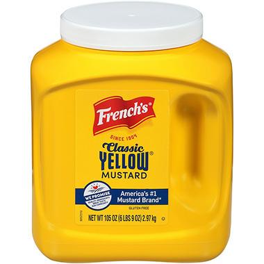 French's� Classic Yellow Mustard - 105oz