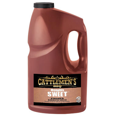 Cattlemen's® Sweet Barbecue Sauce - 1gal
