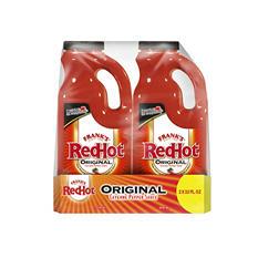 Frank's RedHot Original Cayenne Pepper Sauce (32 oz. jug, 2 pk.)