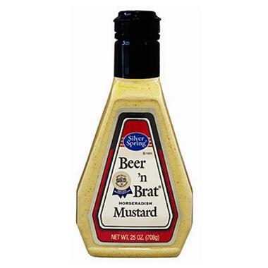 Silver Spring Beer 'n Brat Horseradish Mustard - 25 oz.