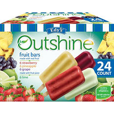 Dreyer's Outshine Fruit Bars (24 ct.)