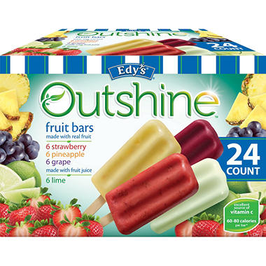 Edy's Outshine Fruit Bars  (24 ct.)