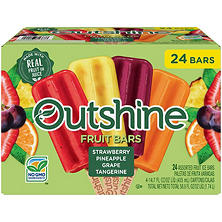 Nestle Outshine Fruit Bars, Variety Pack (24 ct.)
