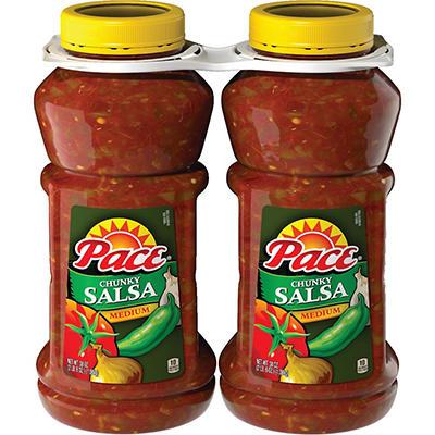 Pace® Chunky Salsa - Medium - 2/38 oz.