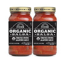 Pace Organic Medium Salsa (24 oz. jar, 2 pk.)
