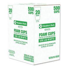 Dart® Foam Cups - 500/20 oz.