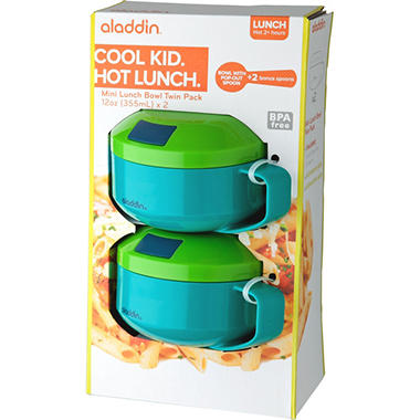Aladdin Mini Lunch Bowl -  2 Pack