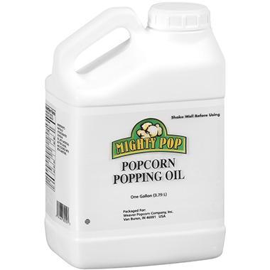 Mighty Pop Popcorn Popping Oil - 1gal jug