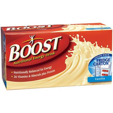 Boost Nutritional Energy Drink Vanilla - 12/8 oz.
