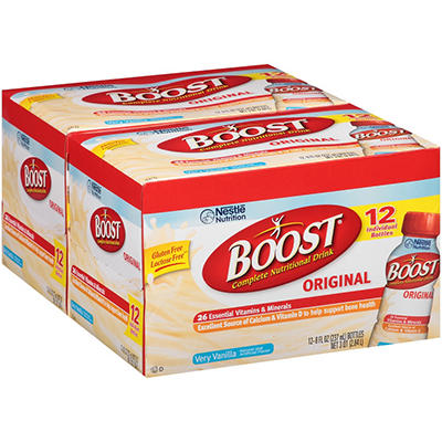 Boost Very Vanilla Complete Nutritional Drink - 8 fl. oz. - 24 ct.