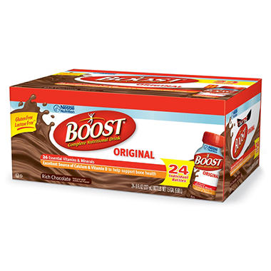 Boost Original Chocolate  Nutritional Drink - 8 oz. - 24 ct.