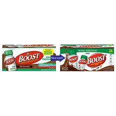 BOOST High Protein Drink - Chocolate - 24 pk.