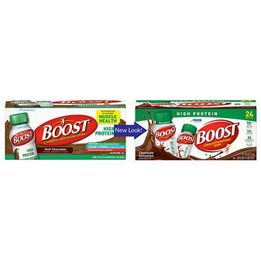 BOOST High Protein Drink, Chocolate (24 ct.)