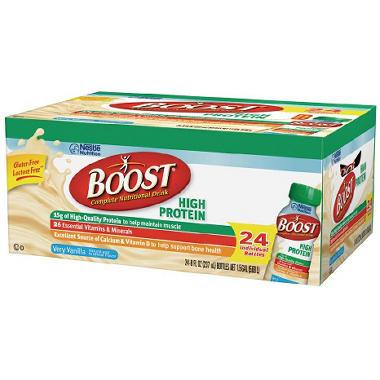 Boost High Protein Drink - Vanilla - 24 pk.