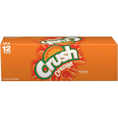 Crush Orange Soda (12 oz. cans, 12 pk.)