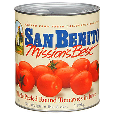 San Benito® Mission's Best™ Tomatoes - 102 oz. can