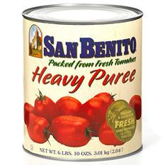 San Benito Tomato Puree - 6 lbs. 6 oz.