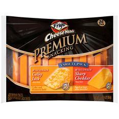 Frigo Cheese Heads Premium Snacking Variety Pack Cheese Sticks (36 ct., 30 oz.)