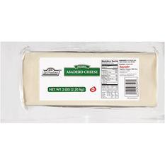 La Paulina Natural Asadero Cheese - 5 lb. Brick