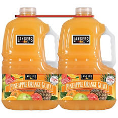 Langers Pineapple Orange Guava (3 L ea., 2 pk.)