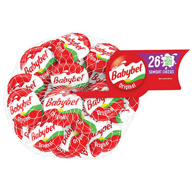 Babybel Mini Cheese Original (16.5 oz., 22 ct.)