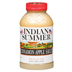 Indian Summer Old Fashioned Cinnamon Applesauce (8 pk., 48 oz.)