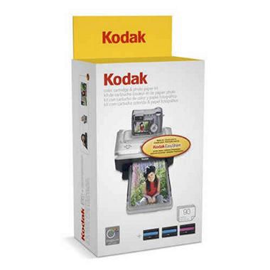 Kodak EasyShare Color Cartridge & Photo Paper Kit
