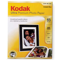 "Kodak Photo Paper 8.5"" x 11"" Ultra Premium - 65 Pack"
