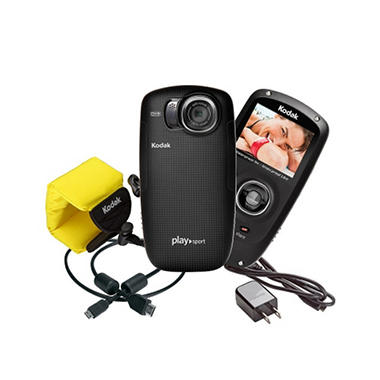 Kodak Playsport Video Camera (2nd Generation) - Black