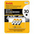 Kodak 30 Series Black Ink Cartridge - 3 Pack