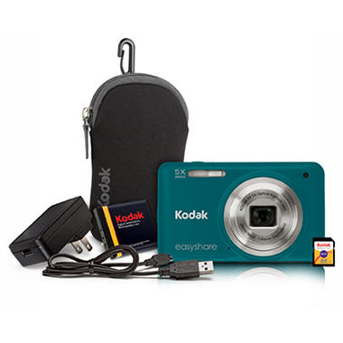 Kodak M5350 16MP Digital Camera - Green