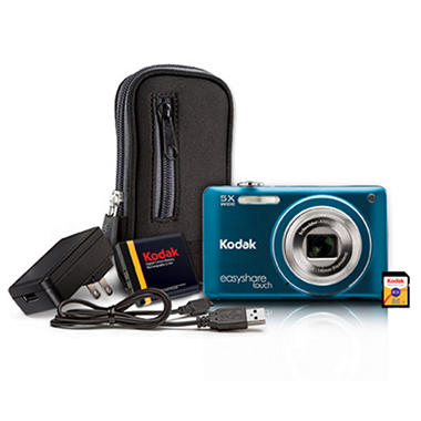 Kodak M5370 16MP Digital Camera - Blue