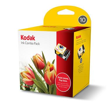 Kodak 10 Series Inkjet Cartridge Combo Pack
