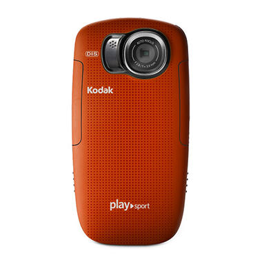 Kodak Playsport Video Camera (2nd Generation) - Red