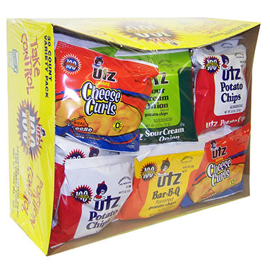 Utz® Snack Smart Variety Pack (30 ct.)