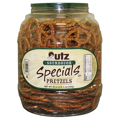 Utz Sourdough Special Pretzel Canister - 3.25 lb.