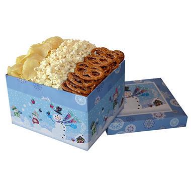 Snack Lovers Gift Box - Snow Kids design (25 oz.)