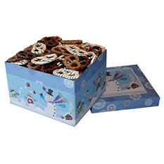 Chocolate Pretzel Lover's Gift Box - Snow Kids (60 oz.)