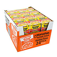 Maruchan Instant Lunch, Chicken Flavor (2.25 oz. cup, 24 ct.)
